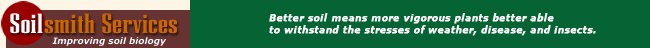 Soilsmith Services - Improving Soil Biology
